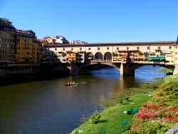Die Ponte Vecchio in Florenz, Italien