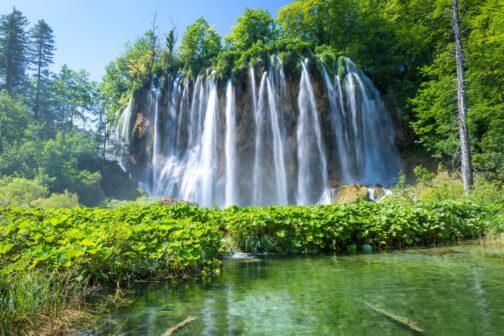 Wasserfall Plitvicer Seen