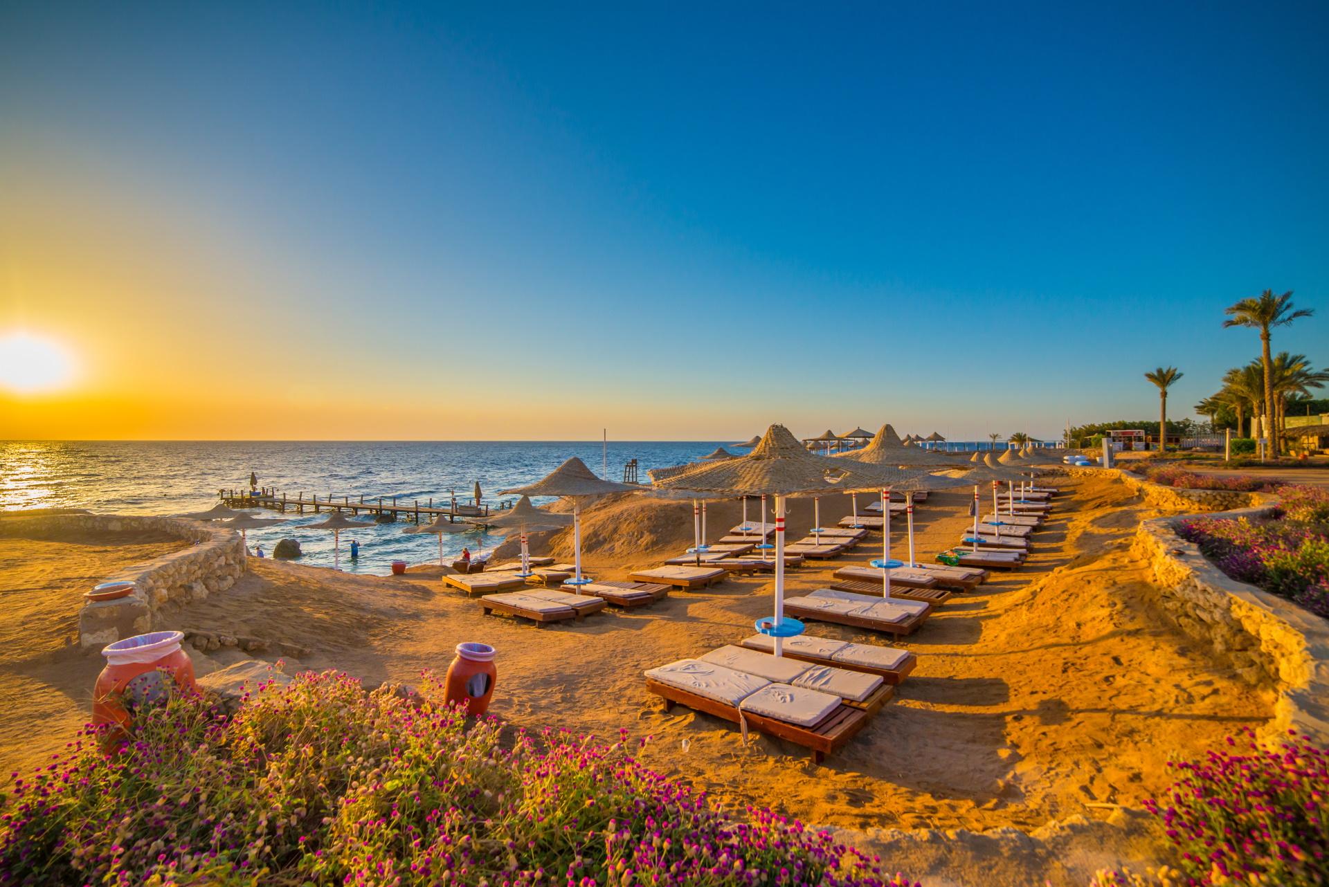 Sonnenaufgang Sharm el Sheikh