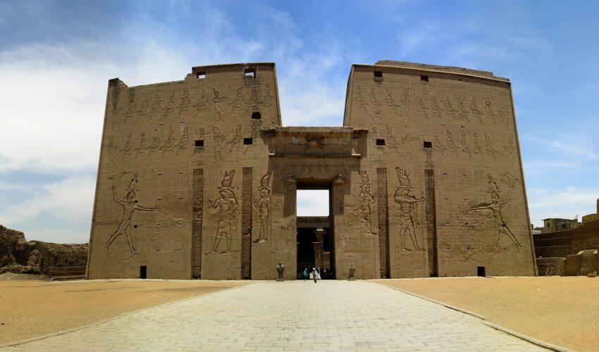 Tempel des Horus von Edfu