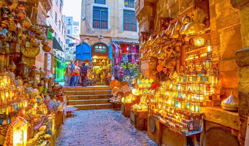 Kairo Ägypten Shopping Basar