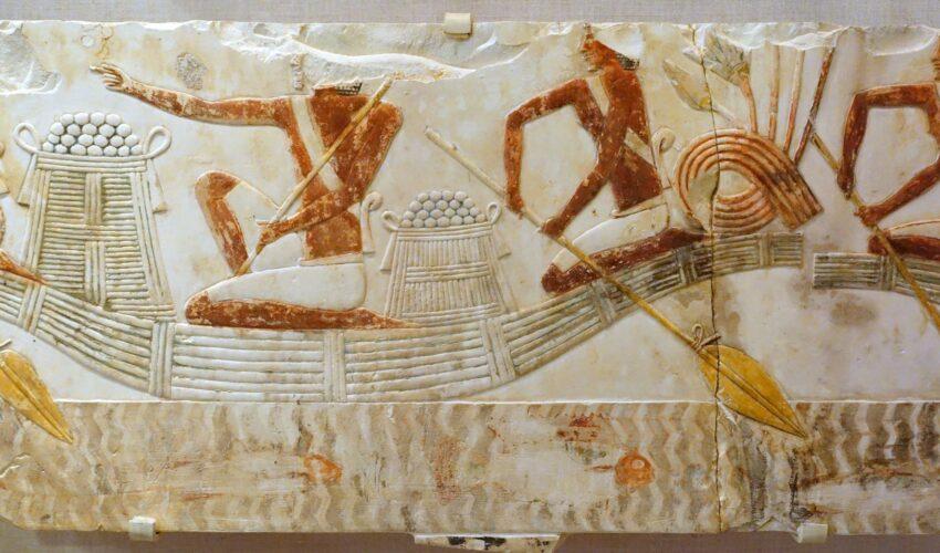 Exponat im Luxor Museum