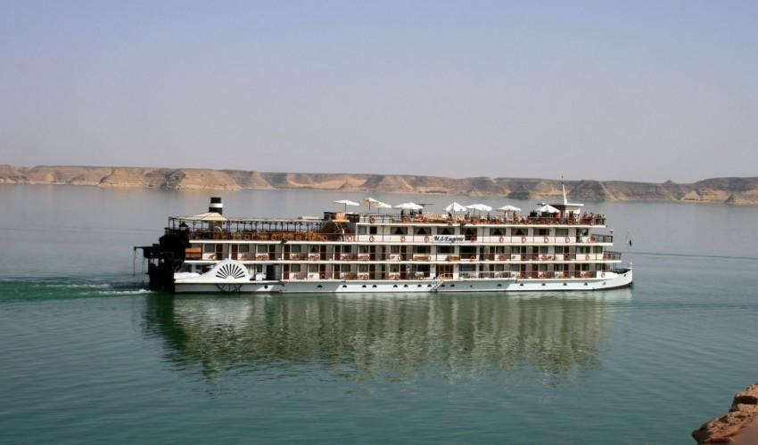 Ausgewählte Nilkreuzfahrtschiffe