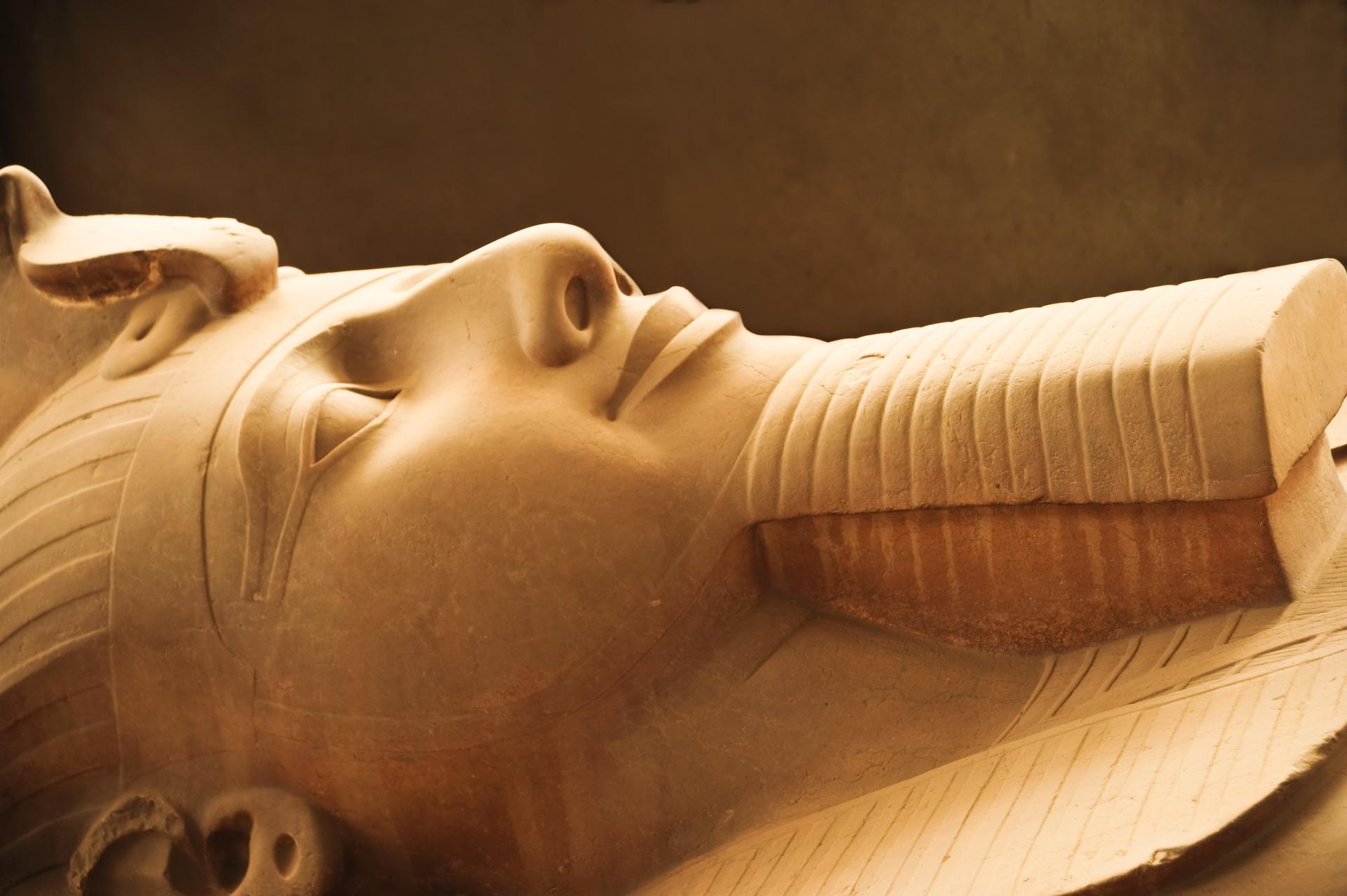 Ramses II im Memphis Museum