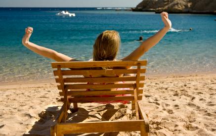 Strand bei Hurghada