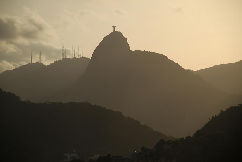 Cristo Retendor auf dem Corcovado (Rio)