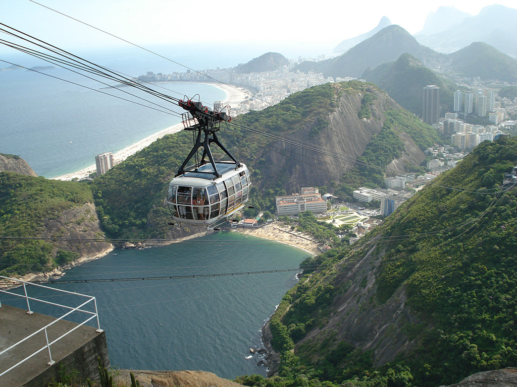 Zuckerhut Seilbahn (Rio)