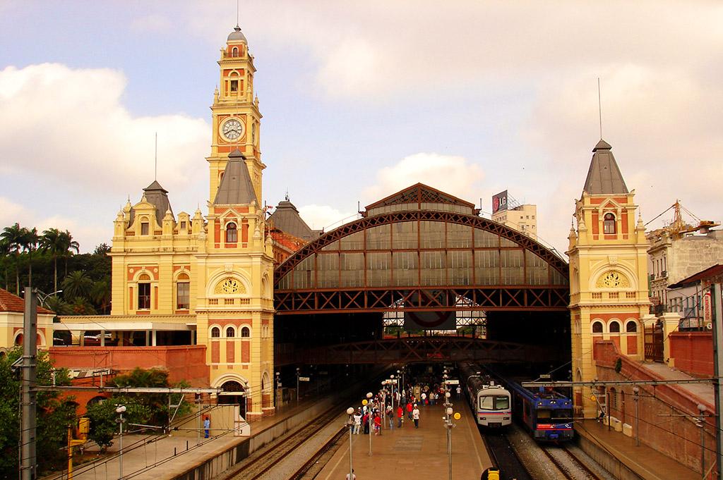 Sao Paulo Luz Bahnhof
