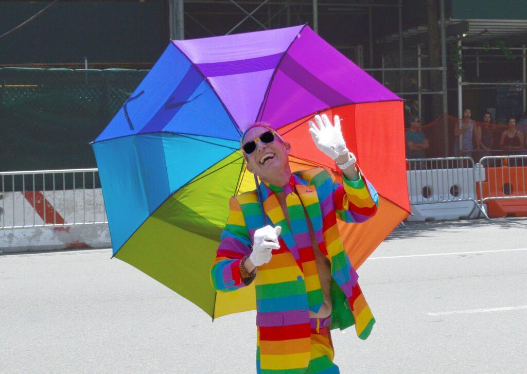 LGBT Regenschirm
