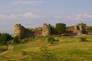 Schlossruine in Bulgarien