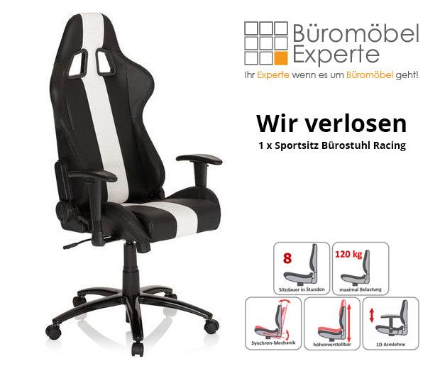 Gewinne einen Gaming Sessel im Wert von 260€