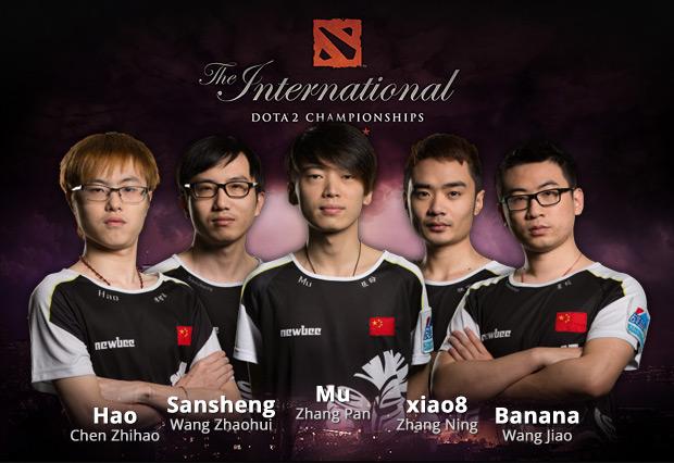 Die Gewinner der The International 2014: NewBee