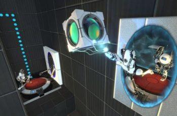 Portal 2: Cover zeigt Charaktere aus dem Koop-Modus