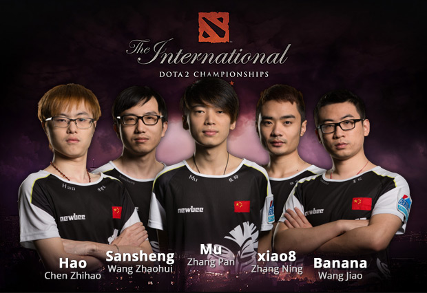 Die Gewinner der The International 2014: NewBee