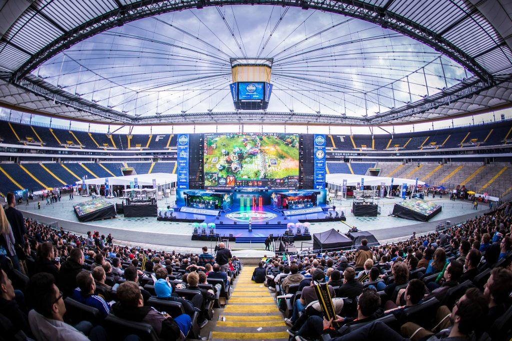 ESL One Frankfurt 2015 - Einblick in das Stadion