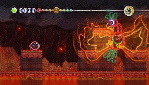 Kirby und das magische Garn Screenshot 1