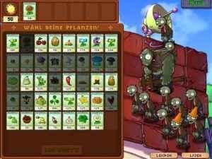 Pflanzen gegen Zombies Screenshot 4