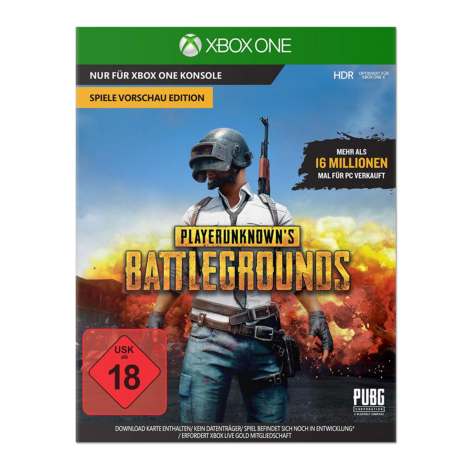 PlayerUnknown´s Battlegrounds (PUBG) PC Xbox One