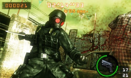 Resident Evil: The Mercenaries 3D Screenshot 1