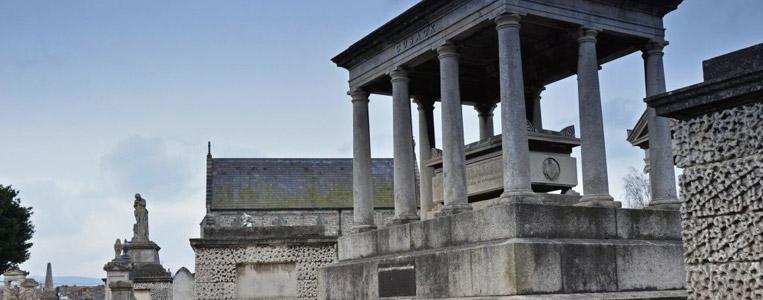 Tempel im Miniaturformat: Die Cusack Gruft