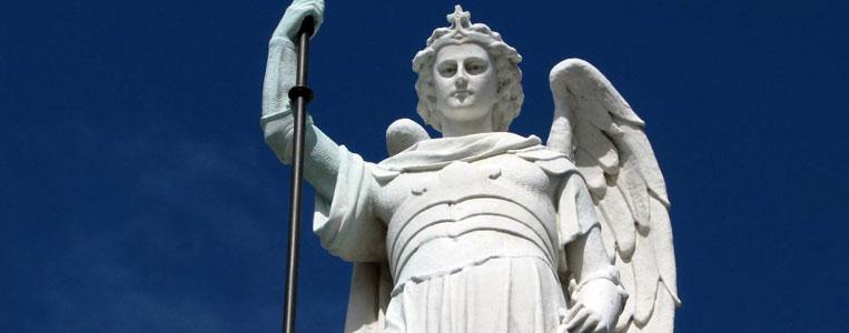 Statue eines Kriegsengels