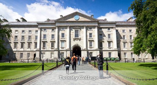 Trinity College & Library – Ein Muss für jeden Dublin-Besucher ist diese Sehenswürdigkeit