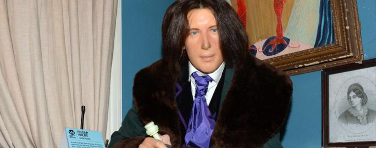 Wachsfigur von Oscar Wilde