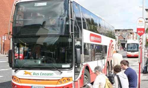 Bus Éireann in Dublin