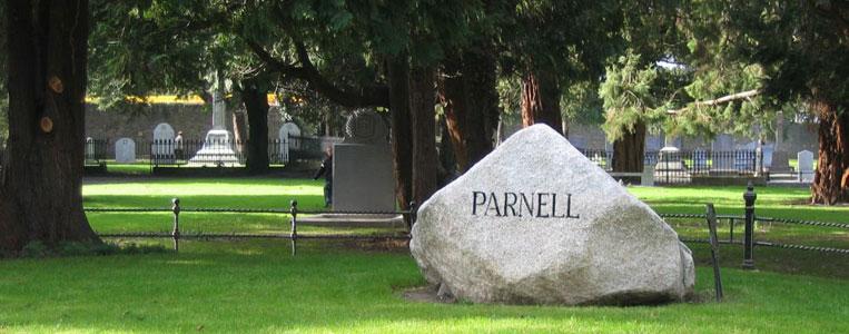Charles Stewart Parnell, dessen Grab sich auf dem Glasnevin Cemetery befindet, gilt als irischer Nationalheld