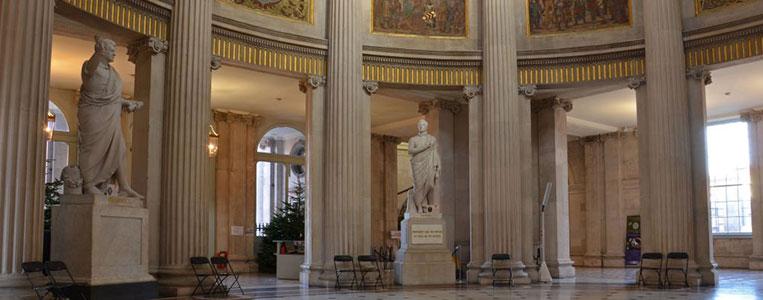 Der Innenraum der Rotunda ist ein herausragendes Beispiel irischer Architekturkunst