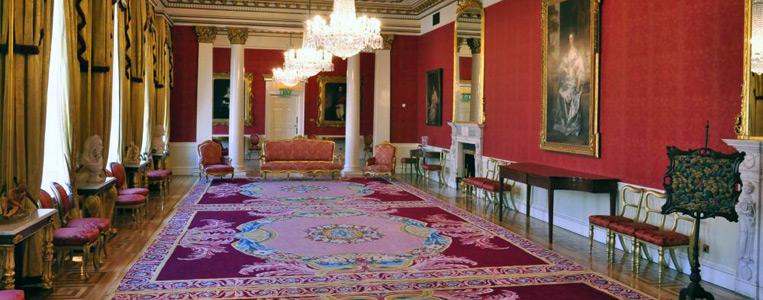 "Empfangsraum der ""State Apartments"" im Dublin Castle"