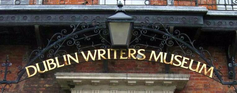 Eingang des Dublin Writer's Museum