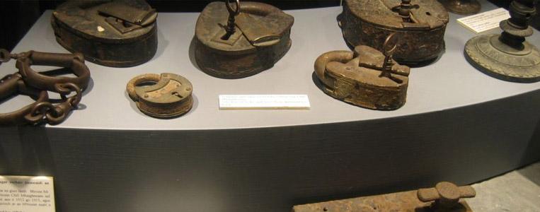 Exponate im Gefängnismuseum