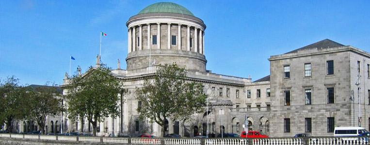 Das wichtigste Gerichtsgebäude Irlands: Four Courts