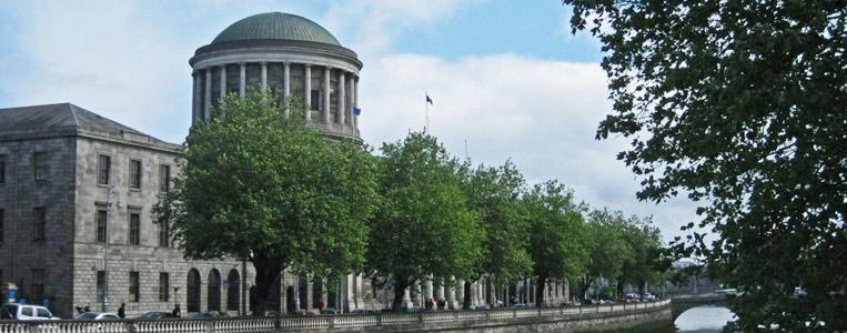 Four Courts aus westlicher Richtung