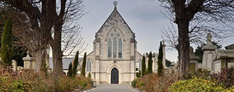 Friedhof-Kirche des Mount Jerome Cemetery