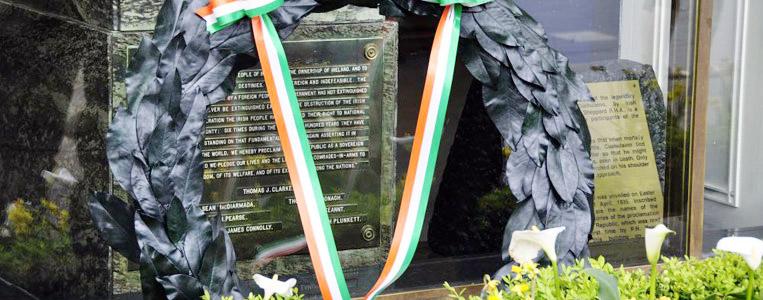 Gedenkstein zu Ehren der Kämpfer des Osteraufstandes