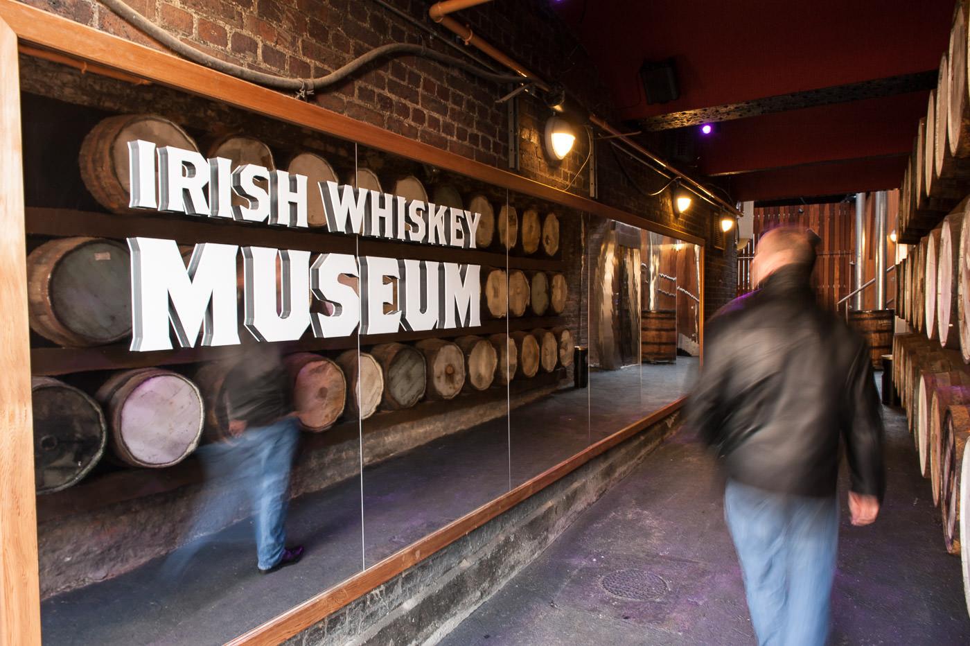 irish whiskey museum eingangsbereich