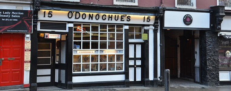 O'Donoghue's Pub in der Merrion Row: Wiege aller No-Nay-Never