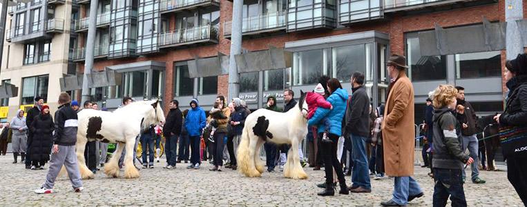 Der Pferdemarkt von Smithfield blickt auf eine lange Tradition