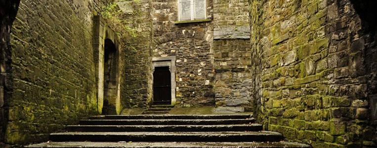 Dublins einziges erhaltenes mittelalterliches Stadttor: St. Audoen's Arch