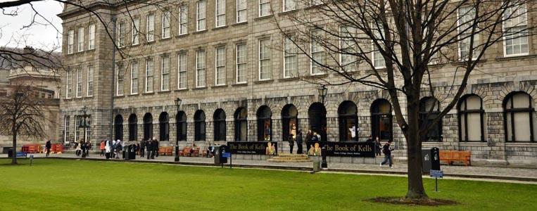 Die alte Bibliothek des Trinity College