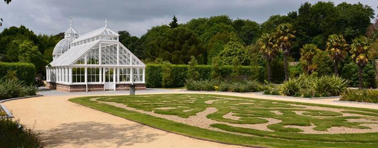 Das viktorianische Gewächshaus im Botanischen Garten