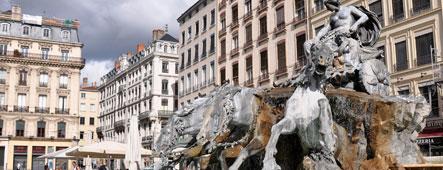 Lyon Fontaine Bartholdi