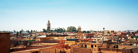 Marrakesch Skyline