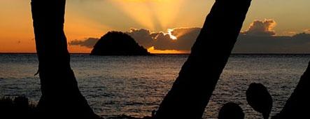 Martinique Sonnenuntergang