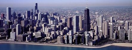 usa chicago skyline