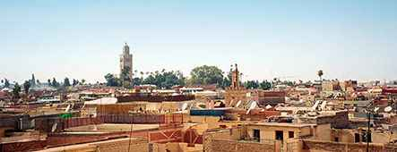 Afrika Stadt