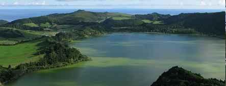 azoren vulkanische seen