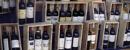 Bordeaux Wein